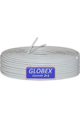 Globex 2+1 Cctv Kamera Kablosu 100 Metre