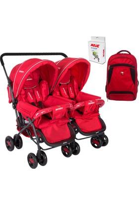 Beneto Bt-151 Turado Twin İkiz Bebek Arabası