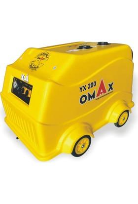 Omax Yx 200 Basınçlı Sıcak Soğuk Yıkama Makinesi