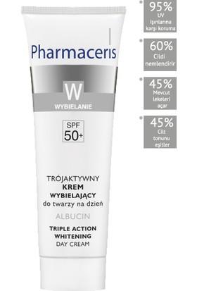 Pharmaceris Albucin Triple Action Skin Lightening Cream Leke Cilt Güneş Koruyucu