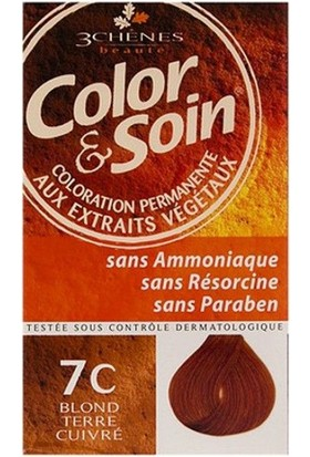 Color & Soin 7C Terracotta Blond Terracotta Sarısı