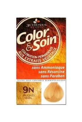 Color & Soin 9N Honey Blond Bal Sarısı (Organik)
