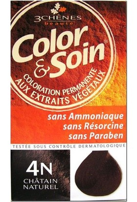 Color Soin Organik 4N Natural Chestnut