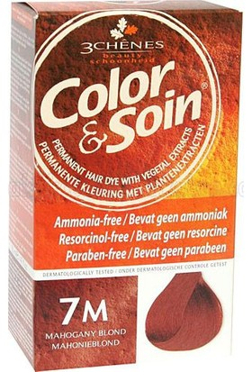 Color Soin Organik 7M Mahogany Blond