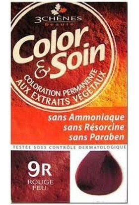 Color Soin Organik 9R Fire Red