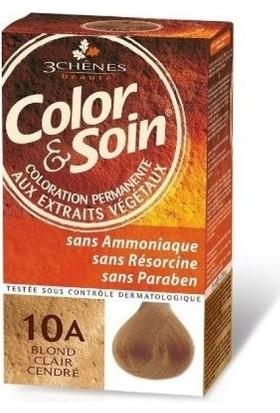 Color&Soin Organik Saç Boyası 10A Açık Sarının Cazibesi-Light Ash Blond