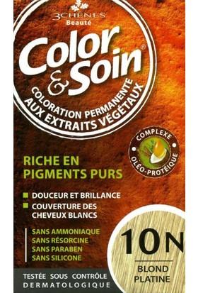 Color&Soin Organik Saç Boyası 10N Platin Tutkusu-Platinum Blond
