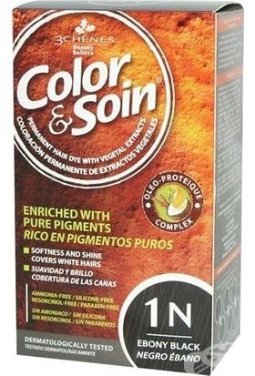 Color Soin Organik Saç Boyası - 1N