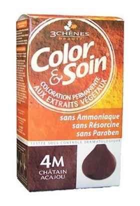 Color&Soin Organik Saç Boyası 4M Maun Kestanesi -Mahogany Chestnut