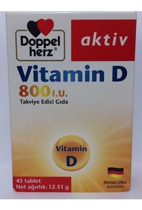 Doppelherz Aktiv Vitamin D 800 I.U. 45 Tablet