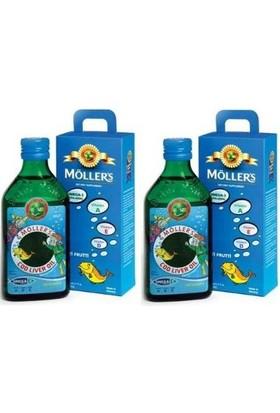 Möller'S Omega 3 Balık Yağı 250 Ml (2'Li Set)