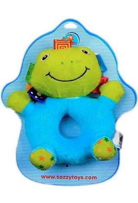 Sozzy Toys Çıngıraklı Kurbagam