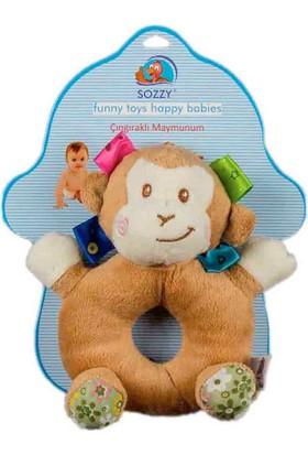 Sozzy Toys Çıngıraklı Maymunum