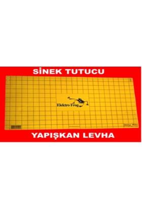 Elektroforg Sinek Öldürücü Yapışkan Levha (30 X 60 Cm) 10 Lu Paket Siyah