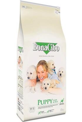 Bonacibo Puppy Lamb & Rice Kuzu Pirinç Yavru Köpek Maması 15 Kg
