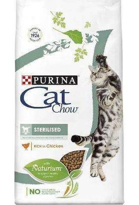 Cat Chow Sterilized Hindili Yetişkin Kuru Kedi Maması 15 Kg