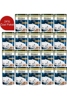 Gourmet Perle Izgara Hindi Ve Kuzu Etli 85 Gr 24 Adet