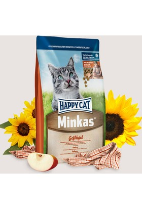 Happy Cat Minkas Geflugel Tavuklu Yetişkin Kedi Maması 4 Kg