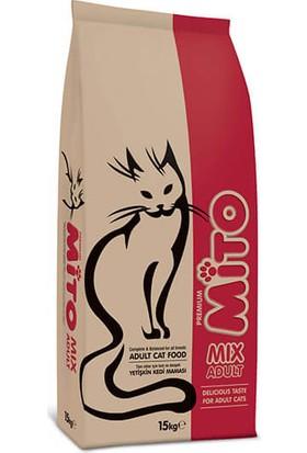 Mito Mix Yetişkin Kedi Maması 15 Kg