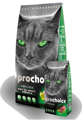 Pro Choice Kuzu Etli Kedi Maması 2 Kg