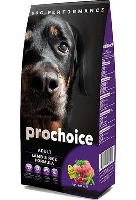 Pro Choice Kuzu Etli Ve Pirinçli Köpek Maması 12 Kg