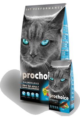 Pro Choice Somon Ve Pirinçli Kedi Maması 2 Kg