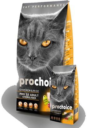 Pro Choice Tavuklu Kısırlaştırılmış Kedi Maması 15 Kg