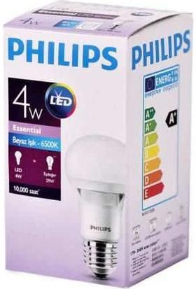 Philips Essential Led Lamba 4 29W E27 Beyaz 12 Adet