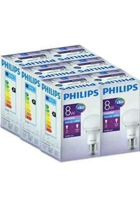 Philips Essential Led Lamba 8 48W E27 Beyaz 6 Adet