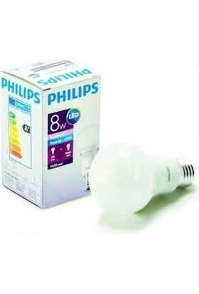 Philips Essential Led Lamba 8 48W E27 Beyaz