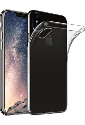 Case 4U Apple iPhone X Silikon Kılıf Şeffaf