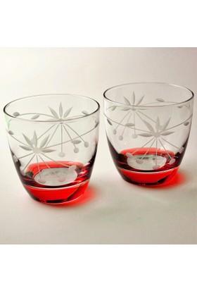 Başak 42030 Taç (Kırmızı) 6 Adet Lyriç Viçki Bardağı