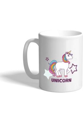 Unicorn Baskılı Kupa