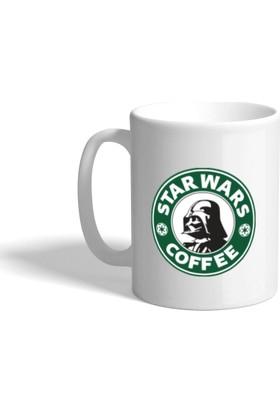Star Wars Coffee Darth Vader Baskılı Kupa