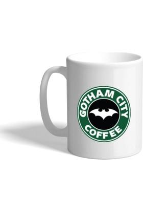 Gotham City Baskılı Kupa