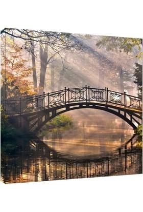 Köprü Fotoğrafı Kanvas Tablo - 50x50 cm
