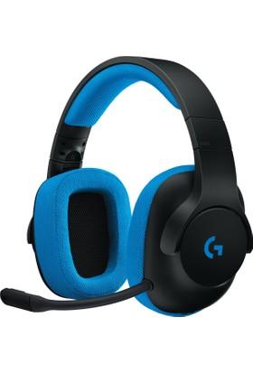 Logitech G233 Oyuncu Headset Black/Cyan 981-000703