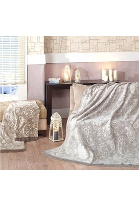 Merinos Pamuklu Battaniye 150x200 Kutulu - Paisley Taş