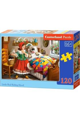 Castorland 120 Parça Kırmızı Başlıklı Kız Çocuk Puzzle