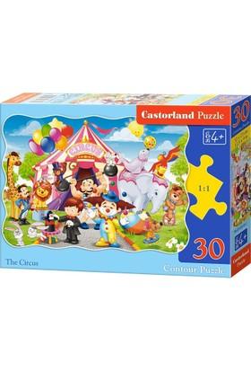 Castorland 30 Parça Sirk Çocuk Puzzle