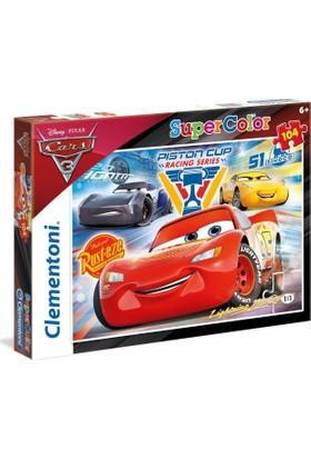 Clementoni 104 Parça Cars 3 Piston Cup Puzzle (27072)