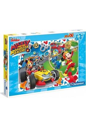 Clementoni 30 Parça Mickey Mouse Maxi Puzzle (07435)