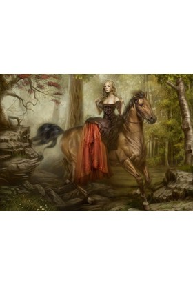 Grafika Wandering The Trail Of Tears (1000 Parça Gothic Puzzle)