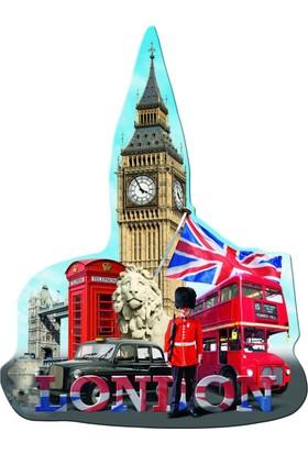 Ravensburger 1155 Parça Londra Big Ben Silüet Puzzle