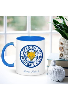 E-Hediyeci İsimli Leicester City Mavi Kupa Bardak