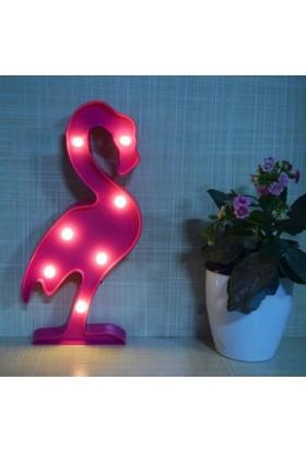 Momz Bebek Çocuk Odası Flamingo Led Gece Lambası