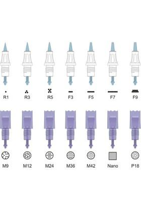 Alya Simin Derma Pen Kartuşlu İğne (Nano)