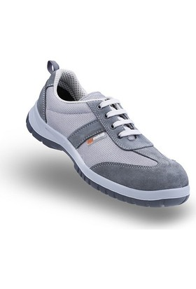 Mekap Jeriko 232 01 Gri Anoraklı Çelik Burunlu Ayakkabı