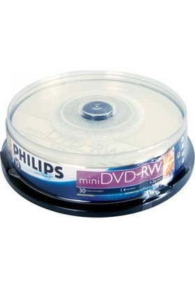 Philips Mini Dvd-Rw 2x 1,4gb 10'Lu Paket