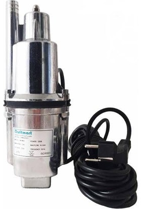 Duffmart Mvm60 Vibrasyonlu Temiz Su Dalgıç Pompa